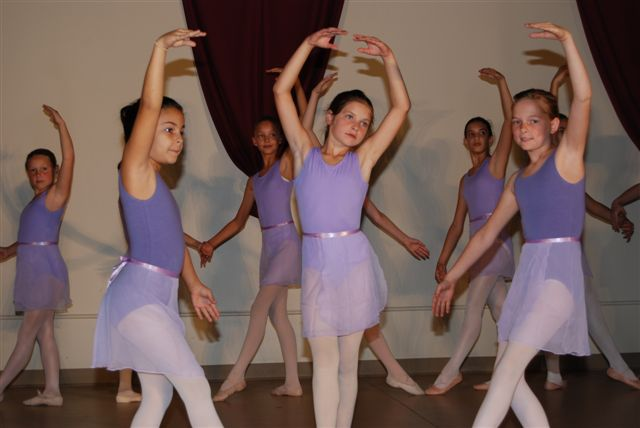 Kids dancing Ballet