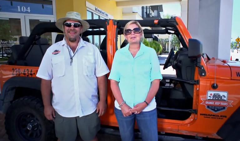 Orange Jeep Tours