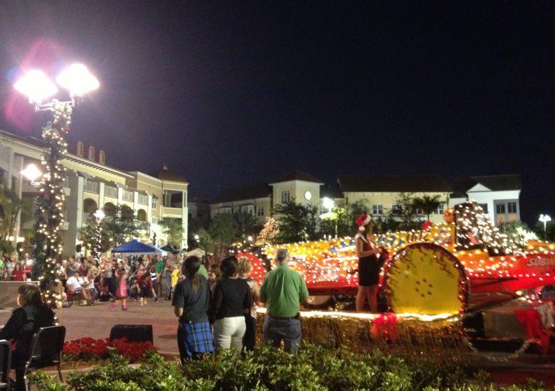 Parade shot
