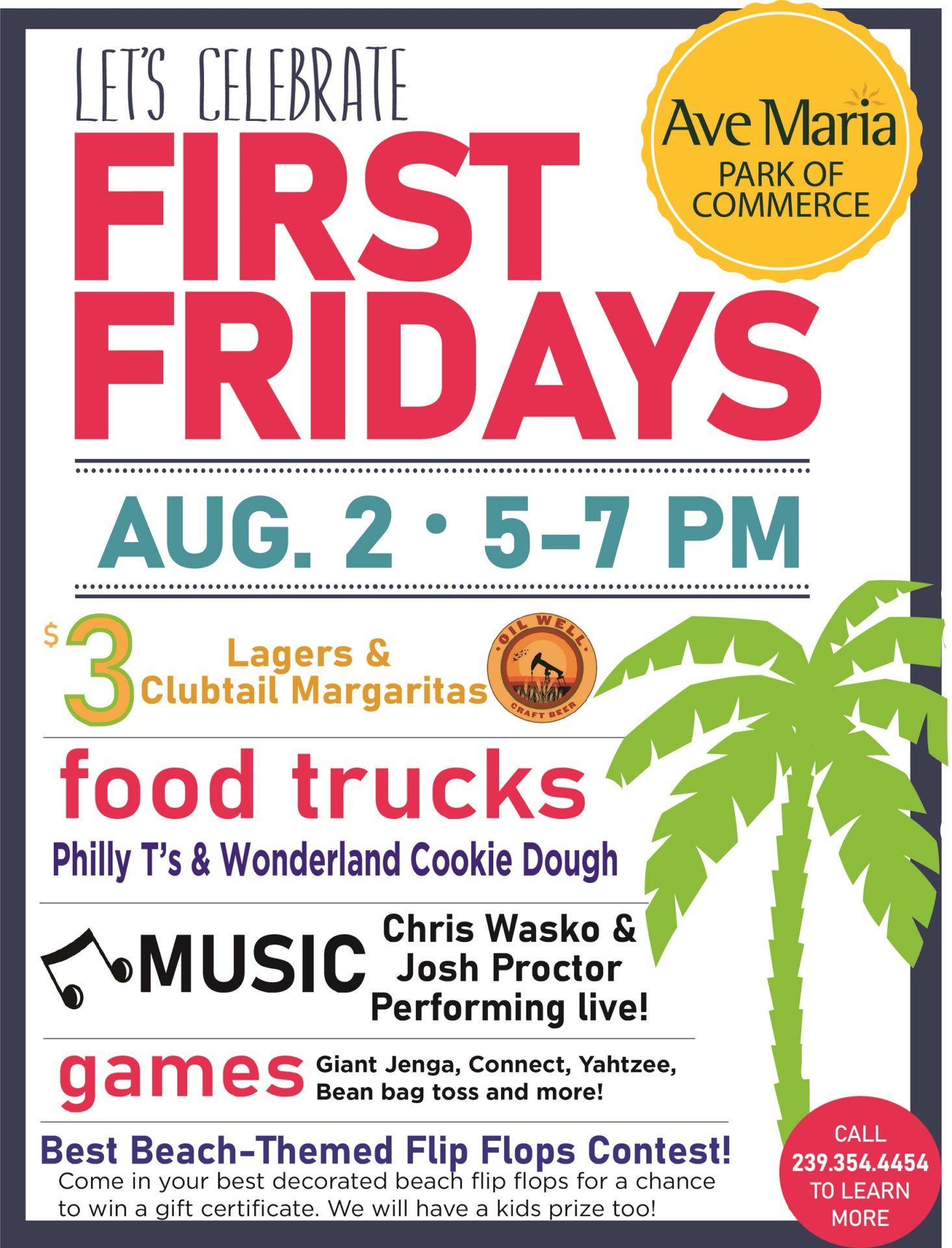 First Fridays August 2 FINAL