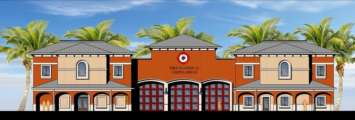 Ave Maria Fire Station Rendering