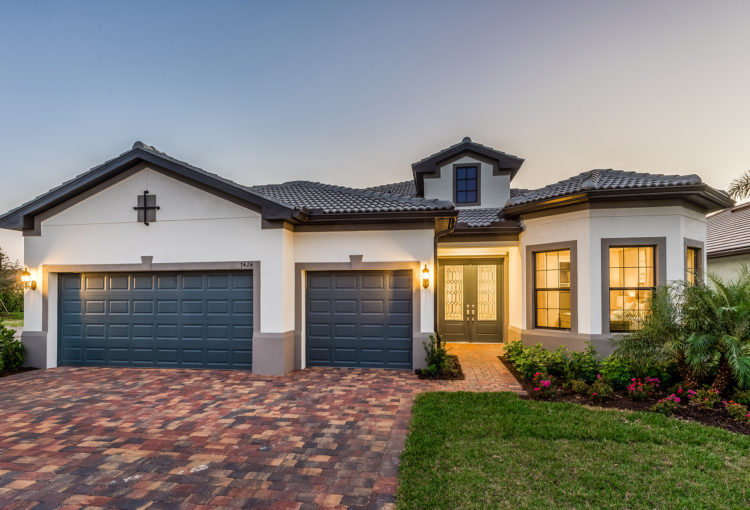 "3.Avalon Park model home ""Stonewater"" by Pulte Homes"