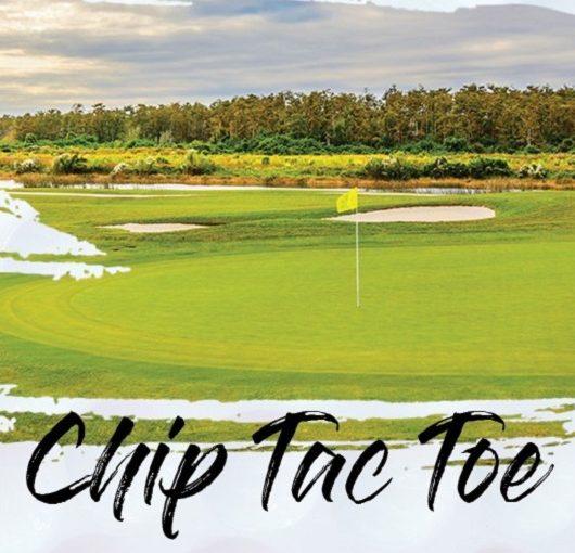 Del Webb Naples Golf Event, Chip Tac Toe flyer