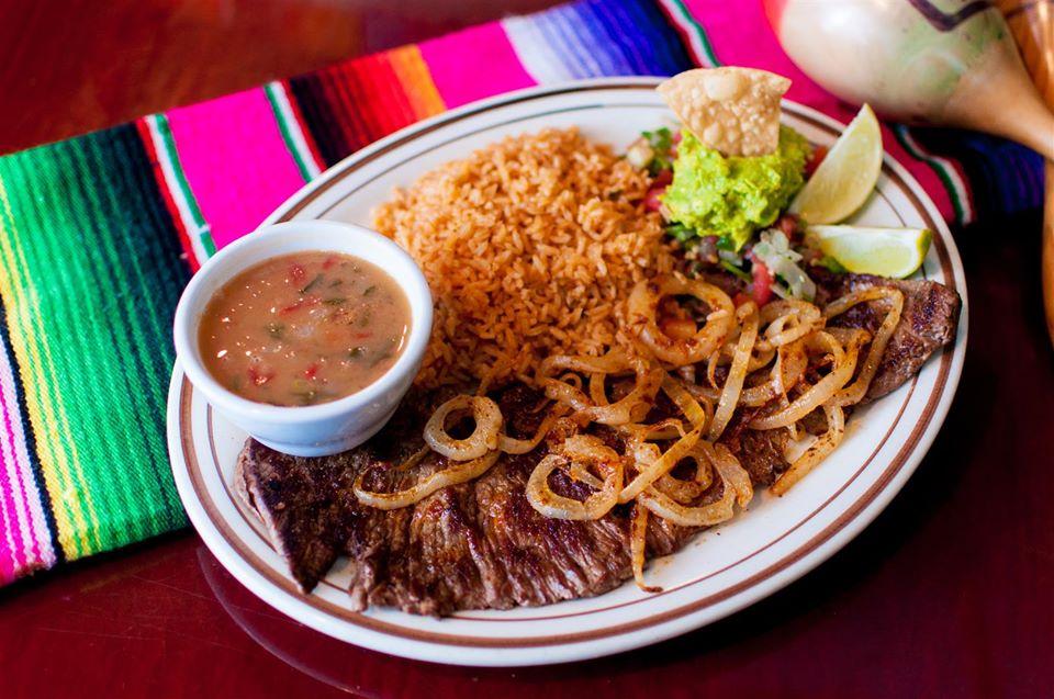 Lozanos Mexican plate Ave Maria, Florida