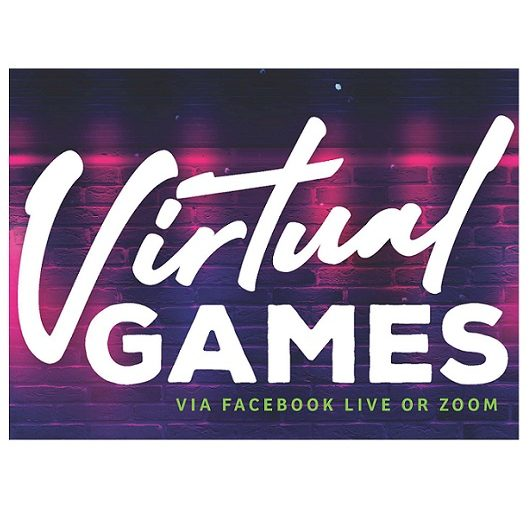 Virtual Games flyer Del Webb Naples Ave Maria Florida