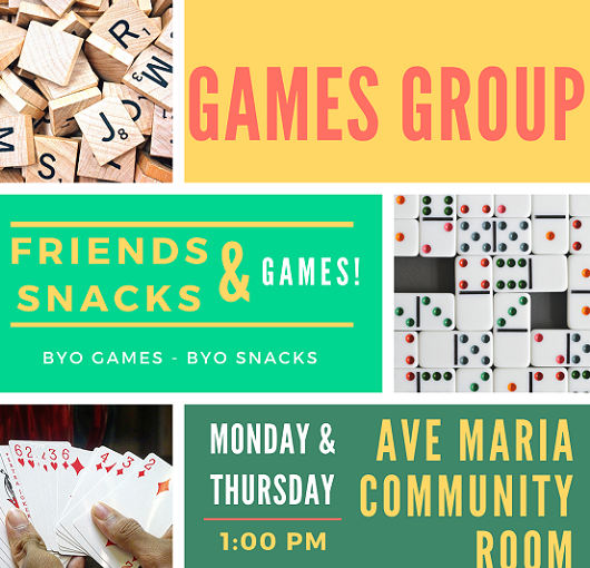 Games Group Flyer Ave Maria, Florida