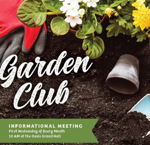 Garden Club Flyer Del Webb Naples