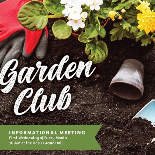 Garden Club Flyer Del Webb Naples