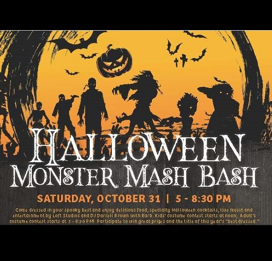 The Rusty Putter Halloween Monster Mash Bash Flyer