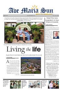 Front page of Ave Maria Sun Summer Edition