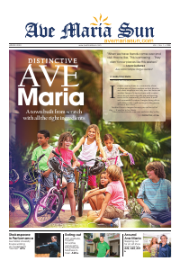 Front page of Ave Maria Sun Winter Edition