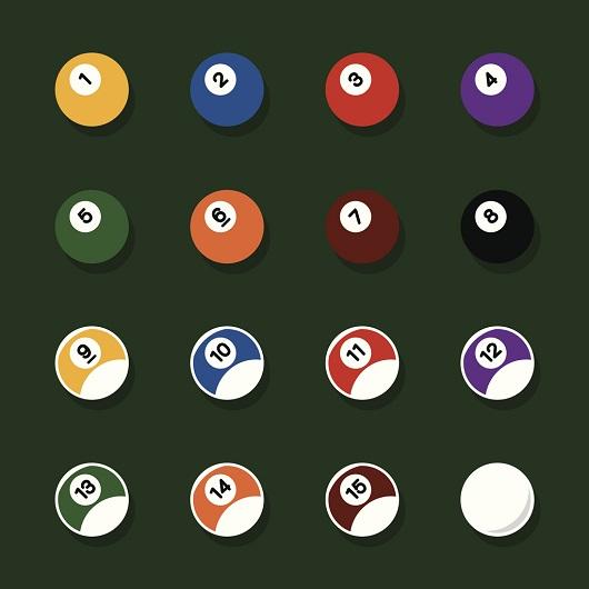 Pool Balls Icons
