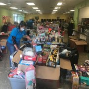 Hundreds of toys for Ave Maria, Florida toy drive