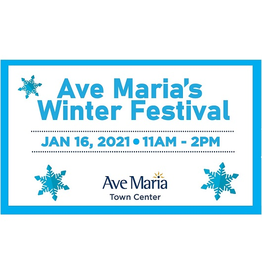 Winter Festival event flyer Ave Maria, Florida