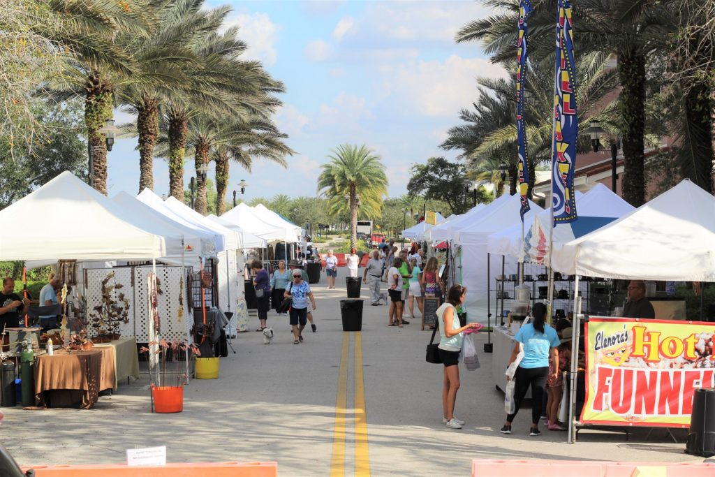 Arts and Crafts fair in Ave Maria Florida