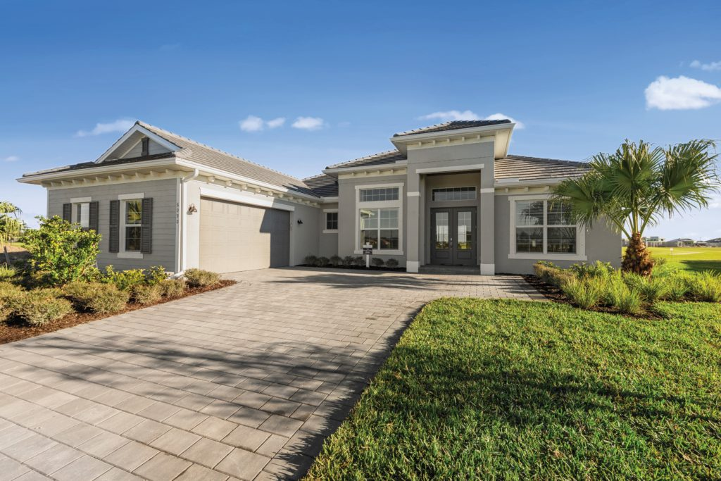 BougainvilleaII front exterior Lennar Homes