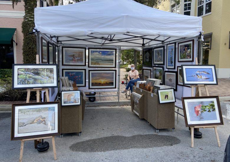 Art work on display