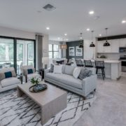 Pulte Homes Avalon Park Driftwood gathering room
