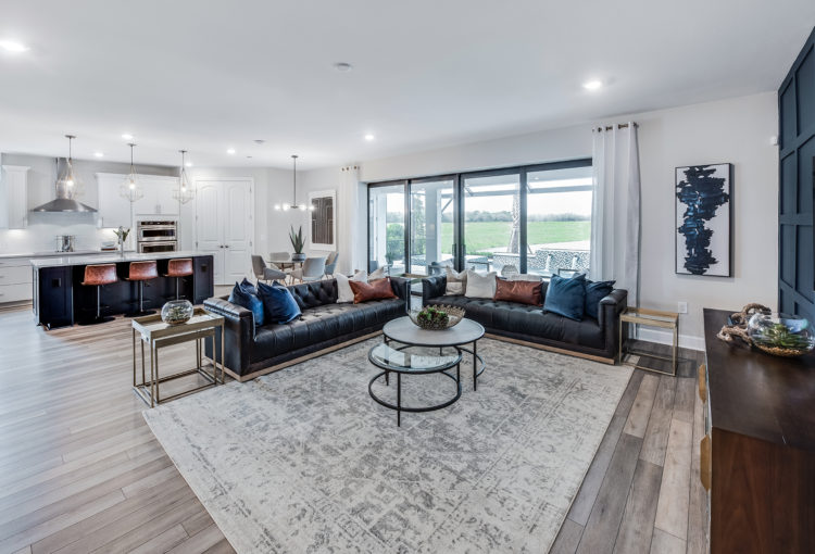 Avalon Park by Pulte Homes- Easley gathering room