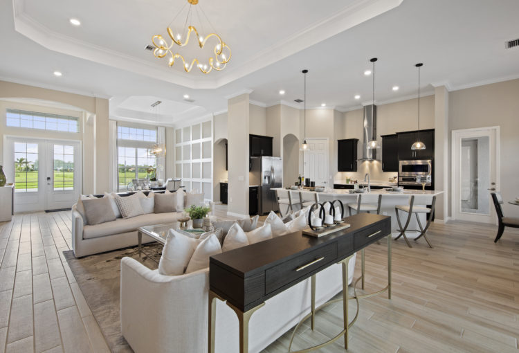 • The National Golf & Country Club by Lennar- Bougainvillea II great room
