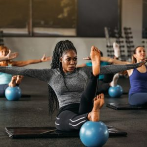 Women working out in exercise class Ave Maria Florida