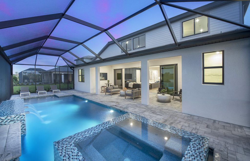 Avalon Park by Pulte Homes- Easley lanai photo