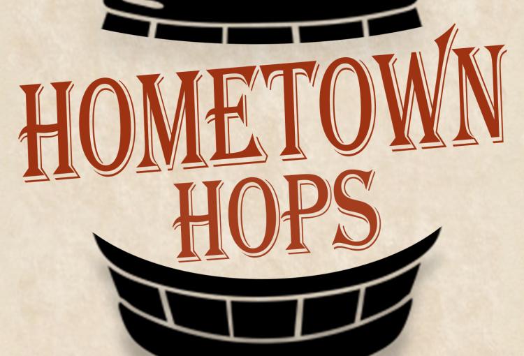 Hometown Hops event logo