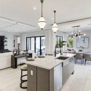 Maple Ridge by CC Homes - Harbour home plan - kitchen